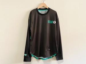 STAMP RUN&CO(スタンプランアンドコー)STAMP LONG SLEEVE TEE ( STAMP LOGO TYPE ) ユニセックスロングTシャツ