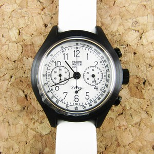 VAGUE WATCH CO.【2EYES クロノグラフ WHITE】