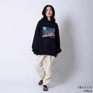 Kaworu MOON PULL PARKA (BLACK)  /  RADIO EVA