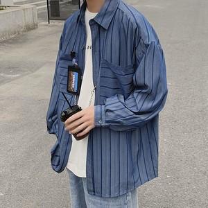 フロントBIGポケットルーズシャツ BL4106