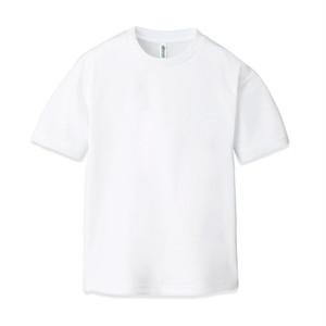 ドライ クルーネックTシャツ(半袖)ホワイト