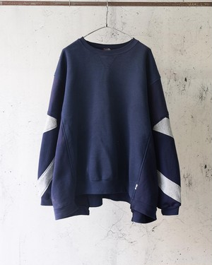 remake switch sweat (navy ②)