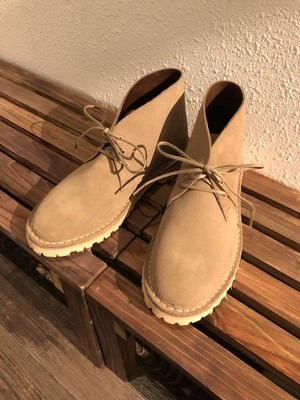 "CROWN SHOES   ""DESERT BOOTS with VIBRAM SOLE(MADE IN ENGLAND)"""