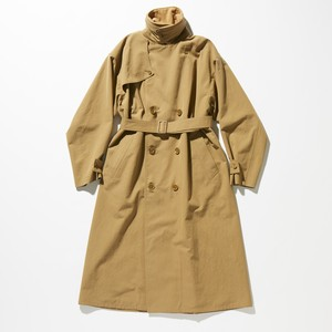 【FILL THE BILL】《MENS》BIG TRENCH COAT - CAMEL