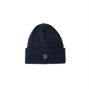 POLAR SKATE CO / DOUBLE FOLD MERINO BEANIE -NAVY-