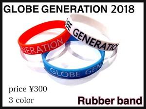 GLOBE GENERATION 1st SEASON ラバーバンド
