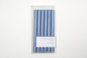 Sealing Wax stick 09.Haze Blue シーリングワックス グルーガン用 ハゼブルー