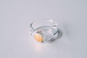 12号 cleargold ring (no.29)