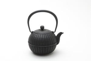 急須 柚子菊 0.4L 黒