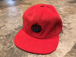 REVERSE ORIGINAL REVEARTH 6PANEL CORDUROY CAP - RED