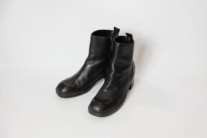 side zip heel boots②