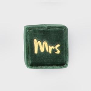 THE MRS.BOX(ザ・ミセスボックス)クラシックサイズ「mrs」ELLINGTON(エメラルド)