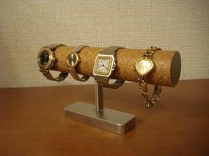 4本掛けインテリアどっしり腕時計スタンド No.121212