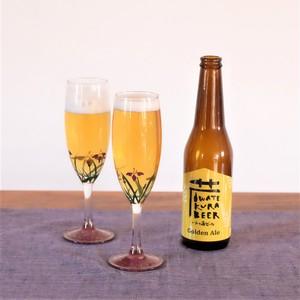 【丸三漆器 グラス】×【世嬉の一 ビール】