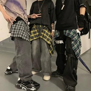 【ボトムス】シンプルファッションストリート系チェック柄28358700