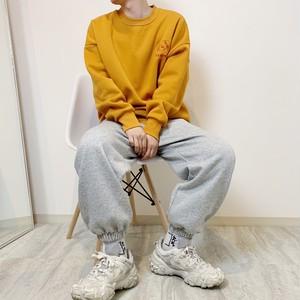 LOGO sweat pants 【gray】