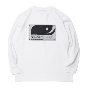 Sheba Front Printed L/S T-Sh(White)
