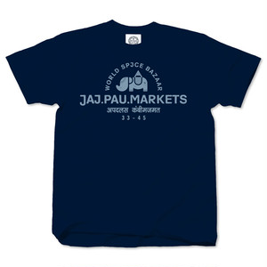 JAI PAU MARKETS navy