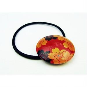 蒔絵調おはじきヘアゴム 錦桜 89303-1709