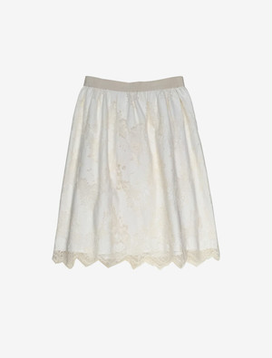 MAGLIE BOTANICAL LACE SKIRT