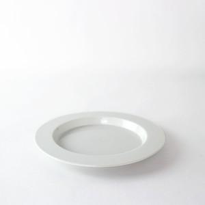 2016/ TeruhiroYanagihara RimPlate180 φ18 x H1.6cm 有田焼 陶磁器 皿 プレート ホワイト デザイナーズ ブランド シンプル  スタイリッシュ テーブルウェア 北欧