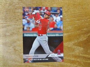 大谷翔平 RC 2018 TOPPS NOW 08.03.18(英語版)