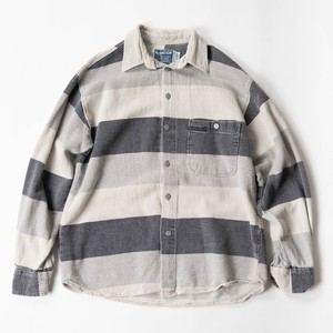 linen cotton border shirts