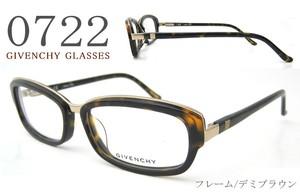 GIVENCHY 眼鏡 ジバンシー vgv708m 722 女性用 レディース メガネ