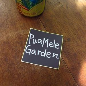 Puamele Garden ステッカー