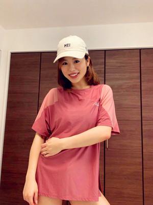 スポーツTシャツ ピンク