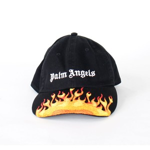 PALM ANGELS Burning Cap Black
