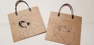 オリジナルイラスト入り紙袋