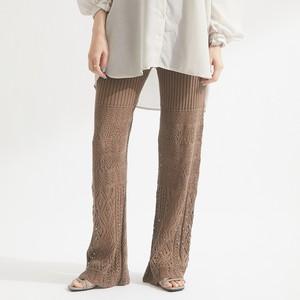 かぎ針編み透かし柄パンツ (ペチコート付)FLS71150