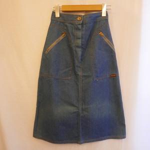 70's Denim Skirt