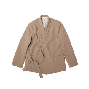 SIDE STRING JACKET / BEIGE
