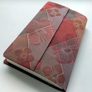 新書本 標準サイズ(絹)セパレート式ブックカバー hs003