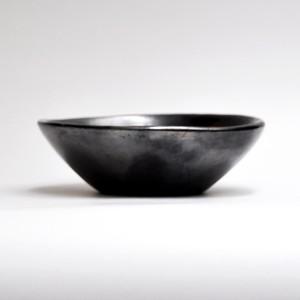 EREACHE エレアチェ 素焼き 黒 ボウルB 食器 メキシコ オアハカ No.2