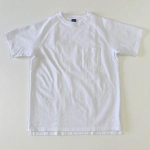 GOOD ON  S/S HEAVY RAGLANポケットTシャツ ホワイト