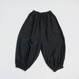 リネンバルーンパンツ*黒