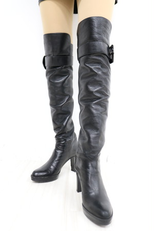 vintage long boots  / 1AWGD29-24