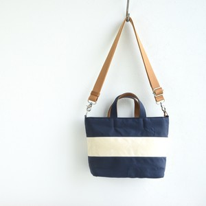 WIDE BORDER TOTE FS (2WAY)/ NAVY