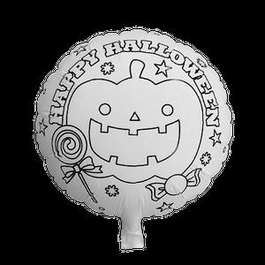 ミニラウンドバルーン キャンバス(ハロウィン・10枚)