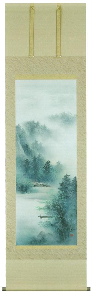 青緑山水 中沢勝 尺五立 6051