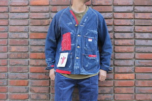 CAL O LINE キャルオーライン / BANDANA ENGINEERS JACKET