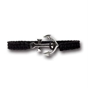 【メール便送料無料/翌日発送】Anchor Bracelet Large Black【品番 19S2004】