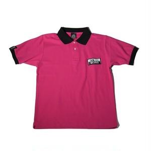 ☆ラスト1点!!☆ポロシャツ「ZONE2」(ピンク/PO-006)