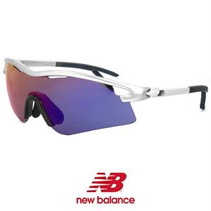 ニューバランス スポーツサングラス nb08079-c02 New Balance nb08079-002 シールド 1枚レンズ