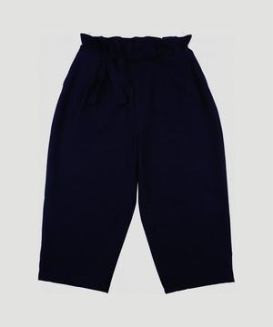 PORTER CLASSIC Strech Chinese Pants Black PC-029-1208