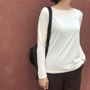 12LEFTY/ボートネックTシャツ