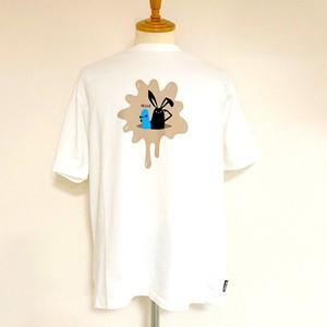 Shabby 「Hello」 T-shirts Off White